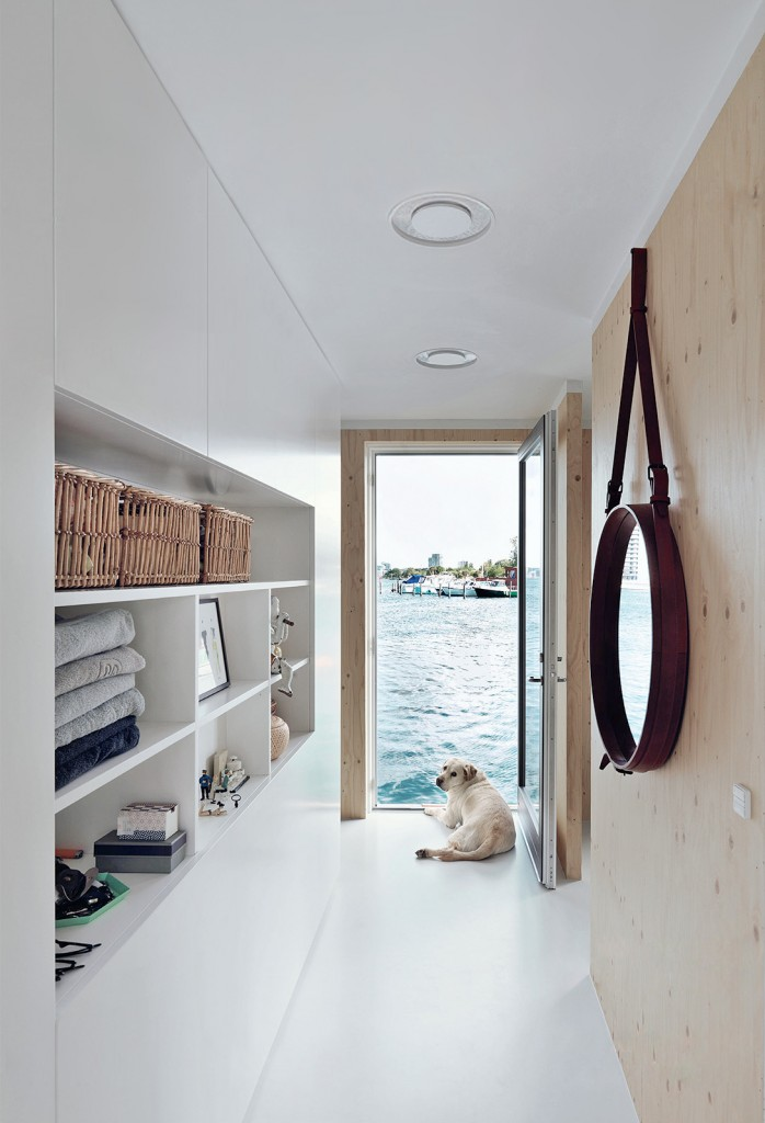 Floating House in Copenhagen Interior