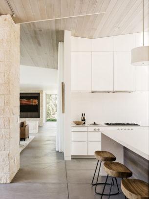Plain White Kitchen