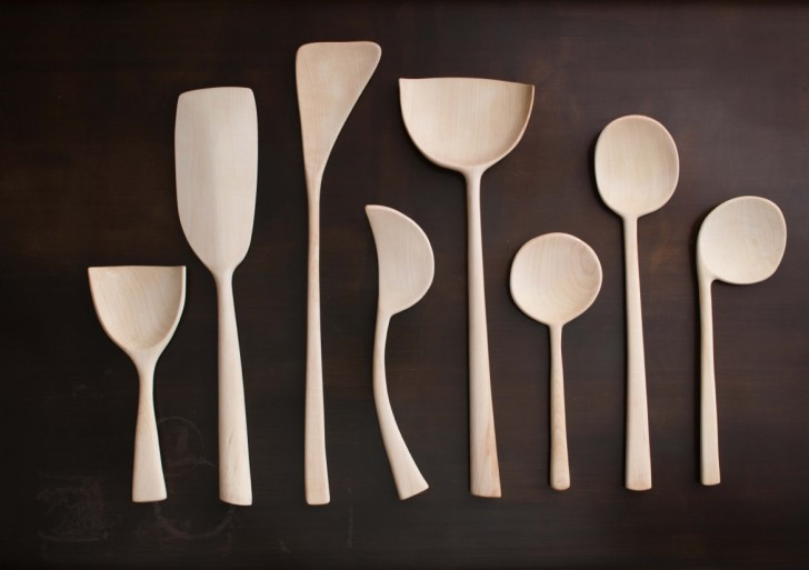 Sculptural Kitchen Tools by Joshua Vogel