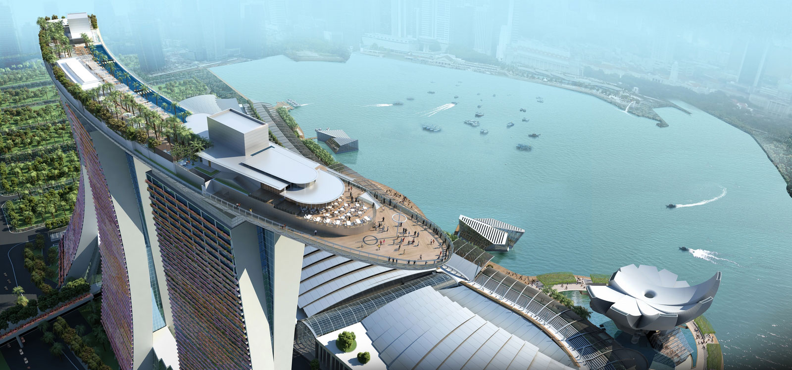 Marina Bay Sands Singapore By Moshe Safdie Ideasgn