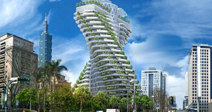 Agora Garden Taipei by Vincent Callebaut