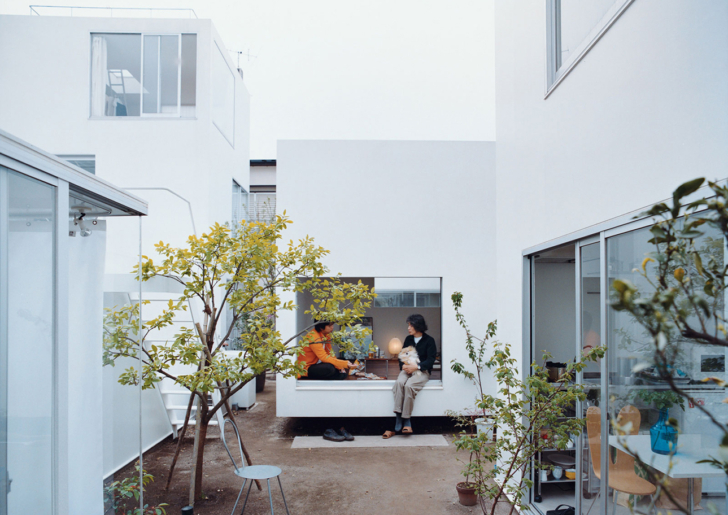 Moriyama House Tokyo by Ryue nishizawa