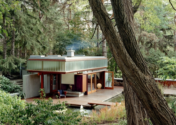 Ravine Guest House / Shim-Sutcliffe Architects