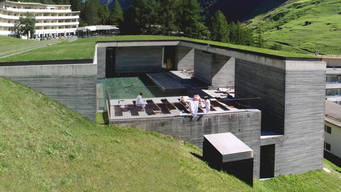 Therme Vals Switzerland / Peter Zumthor