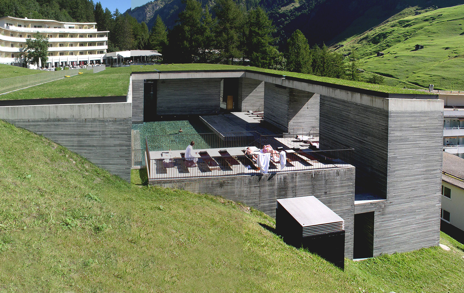 Therme vals switzerland peter zumthor ideasgn for Design hotel vals