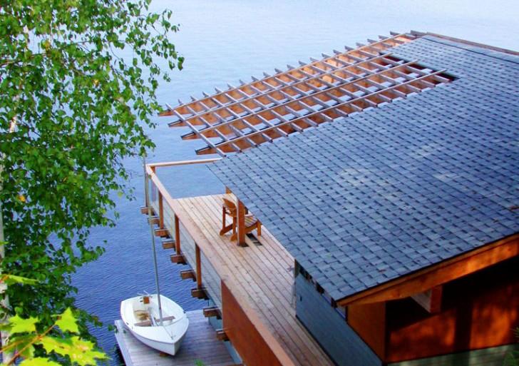 Acton Island Boathouse / Altius Architecture