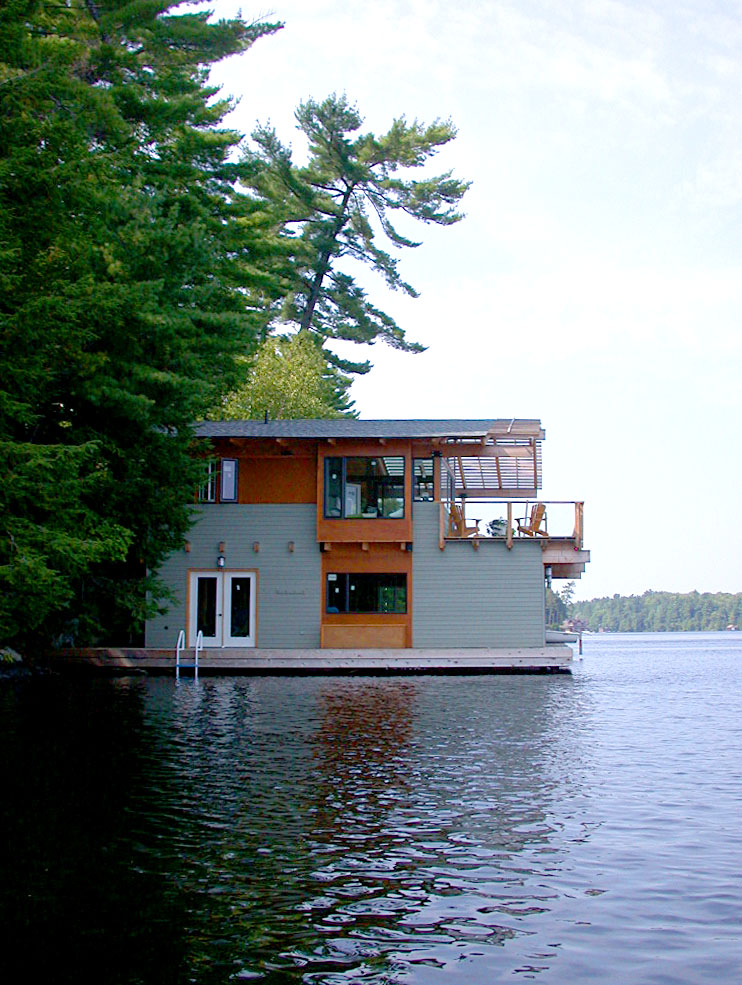 Acton Island Boathouse Altius Architecture Ideasgn