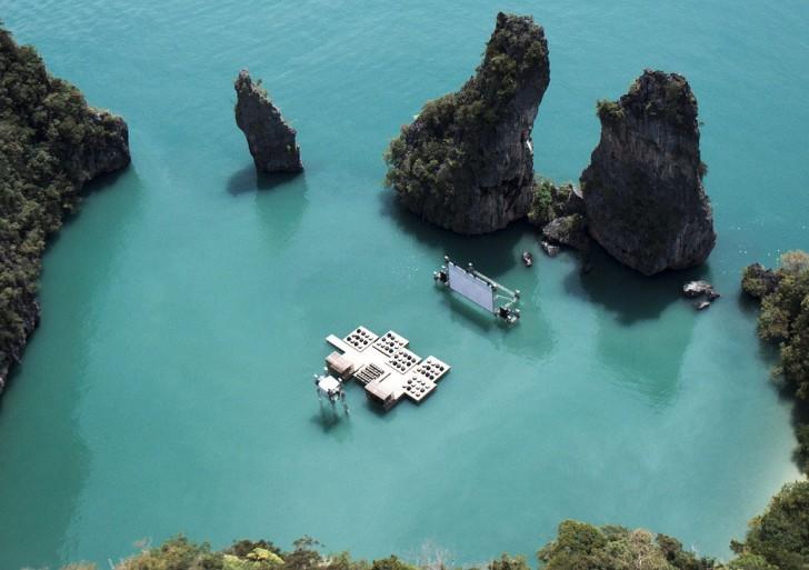 Archipelago Cinema Thailand / Ole Scheeren
