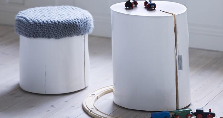 Årringene wooden stools / Krosser