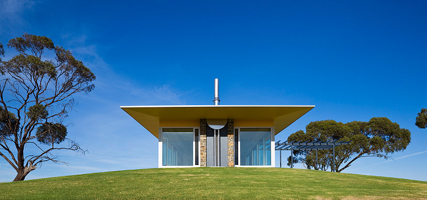 Barossa Valley Glass House Max Pritchard Architect 009