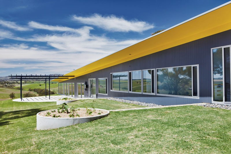 Barossa Valley Glass House Max Pritchard Architect 012