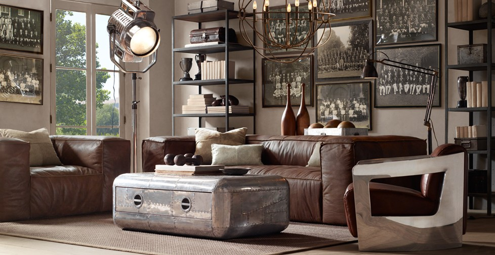 Blackhawk coffee table restoration hardware ideasgn - Gordijnen marokkaanse lounges fotos ...