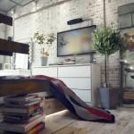 Casual Loft Style Living interior-design Maxim Zhukov 001