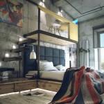 Casual Loft Style Living interior-design Maxim Zhukov 002