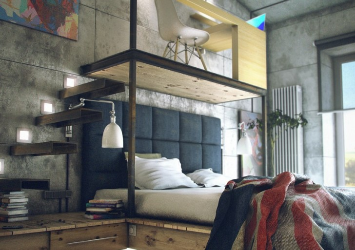 Casual Loft Style Living / Maxim Zhukov