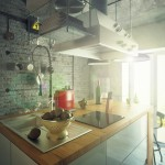 Casual Loft Style Living interior-design Maxim Zhukov Industrial-style-kitchen