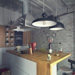 Casual Loft Style Living interior-design Maxim Zhukov White-wood-kitchen