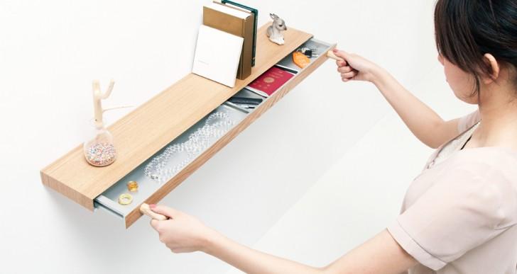Clopen Shelf / Torafu Architects