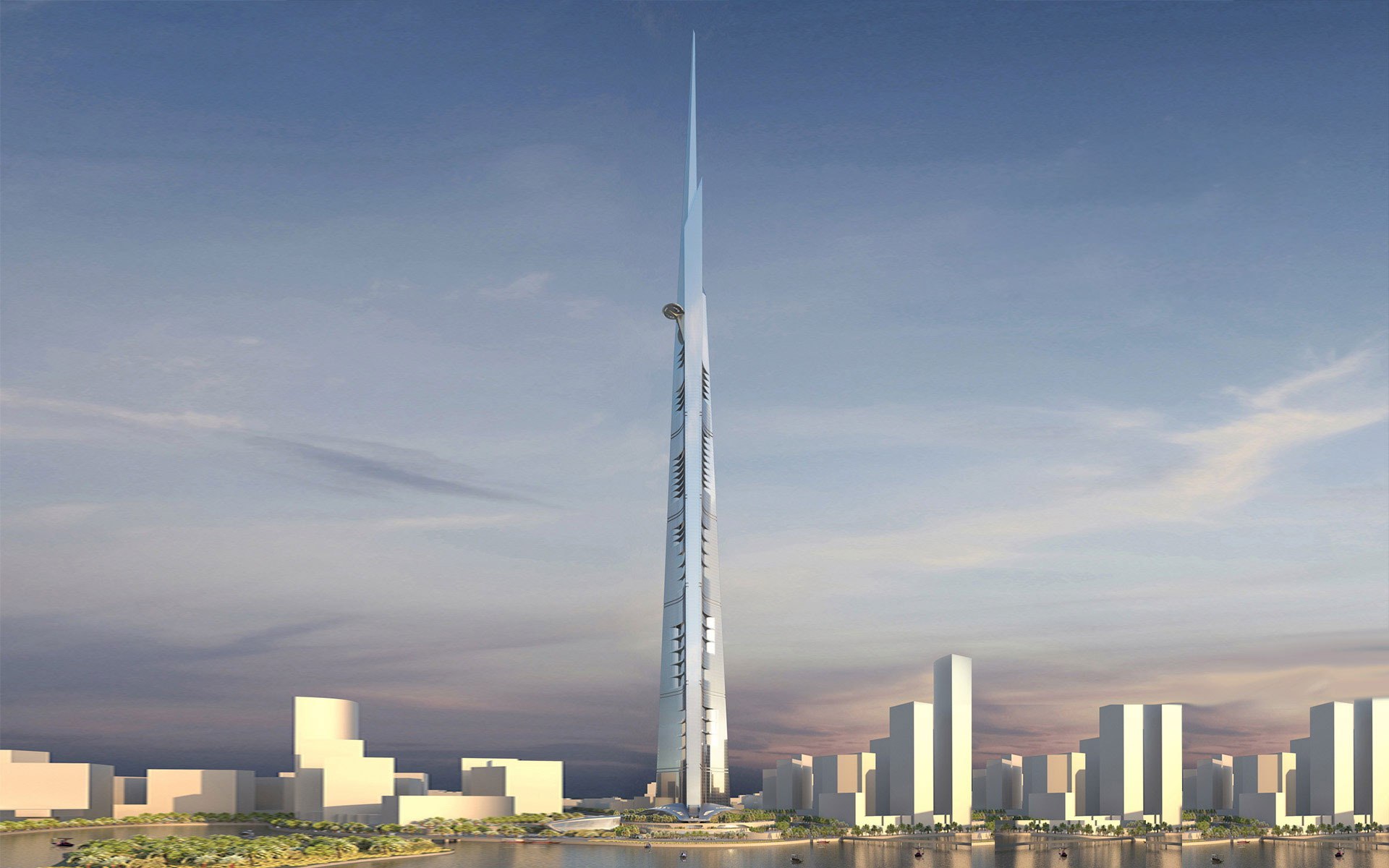 Kingdom Tower Jeddah Adrian Smith Gordon Gill