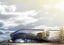 NAMOC competition / Morphosis Architects