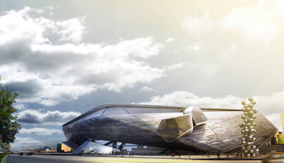 NAMOC Competition Morphosis Architects Ideasgn