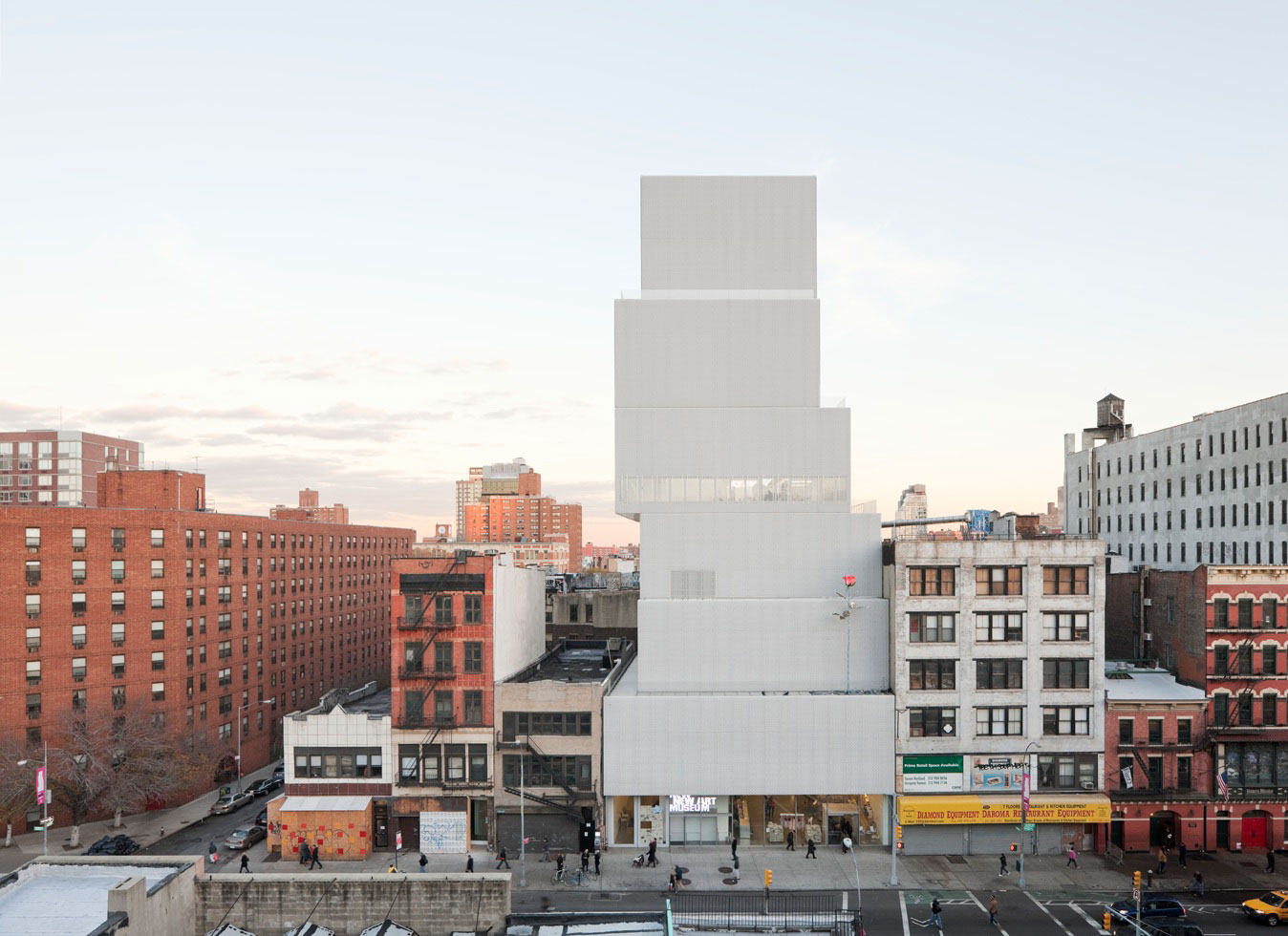 new museum of contemporary by sanaa in new york united states 004 ideasgn