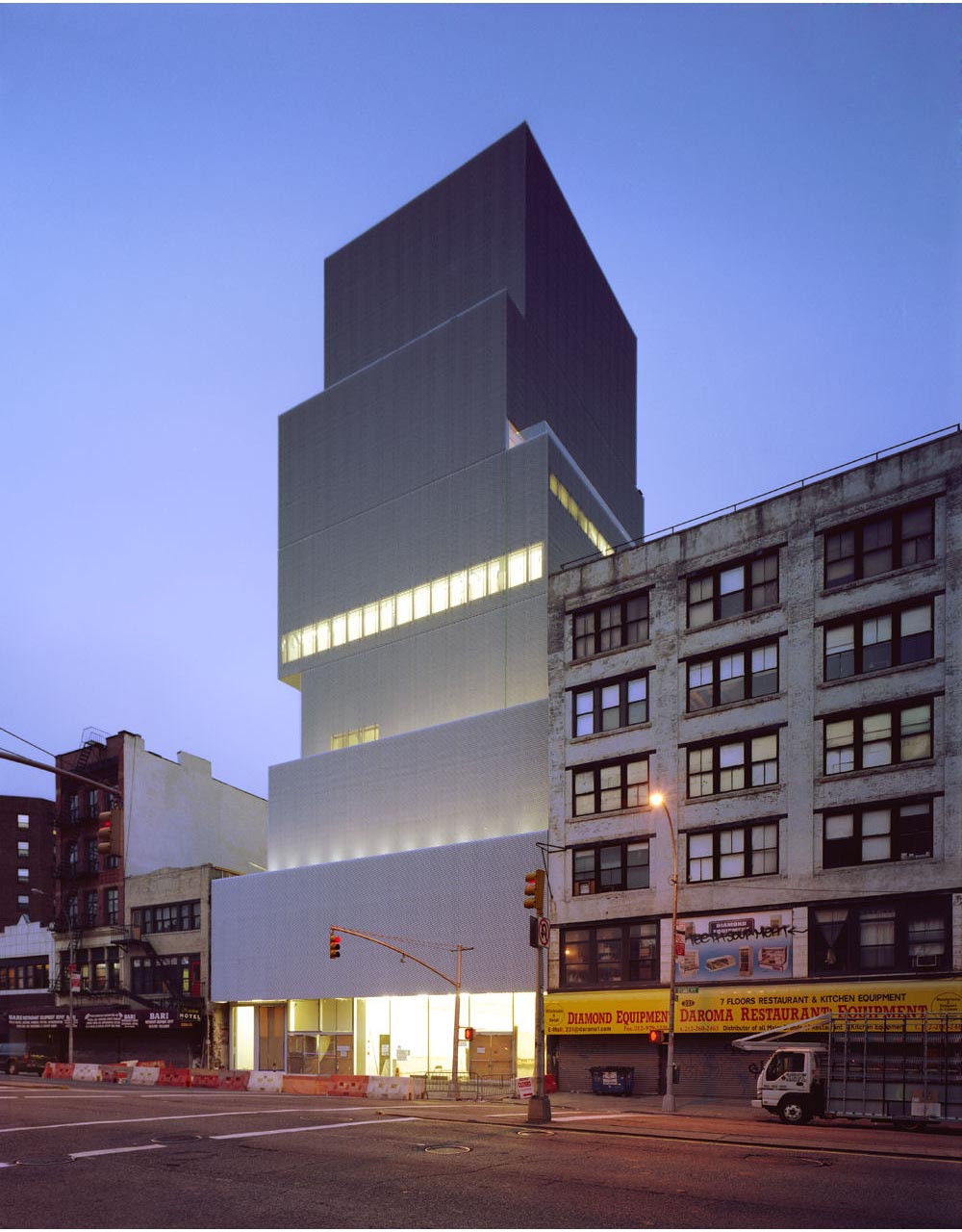 New Museum Of Contemporary Art By SANAA In New York United States 007 Ideasgn
