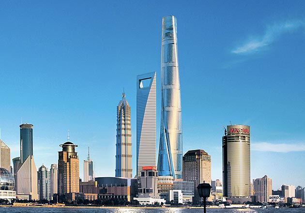 Shanghai Tower Gensler Ideasgn