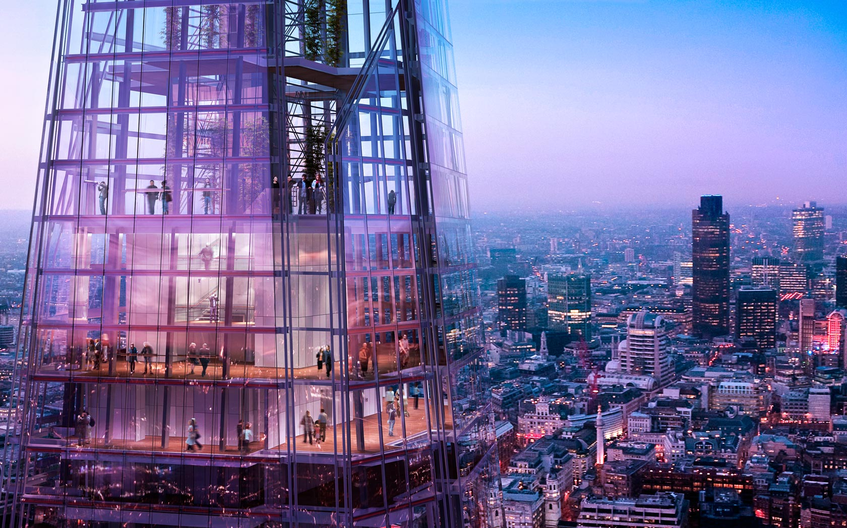 The shard london renzo piano ideasgn for Architecte tower bridge