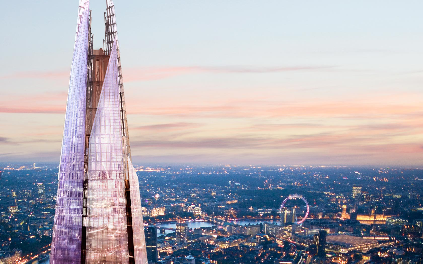 The shard london renzo piano ideasgn for Architecture londres