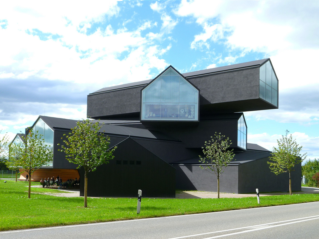 The VitraHaus, designed by Herzog & de Meuron, is Vitra's flagship ...