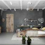 industrial bedroom 3d by Blalank studio 003