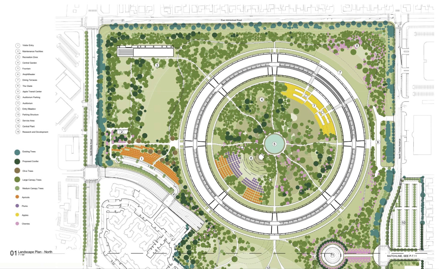 Apple Campus 2 By Foster Partners Plan Ideasgn