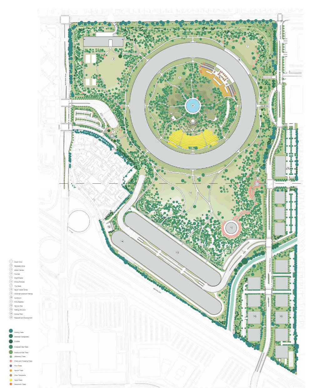 Apple Campus 2 By Foster Partners Plan 4