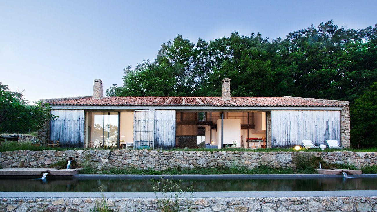 Country stable renovation baton arquitectura ideasgn - Plan renovation maison ...