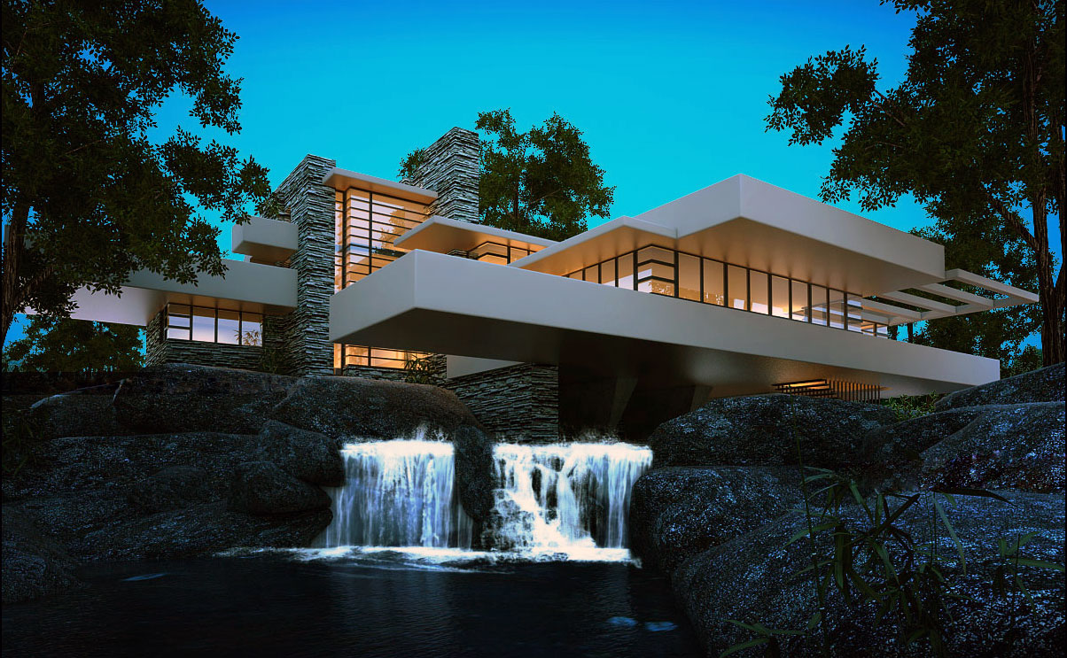 Fallingwater frank lloyd wright ideasgn for Design in casa