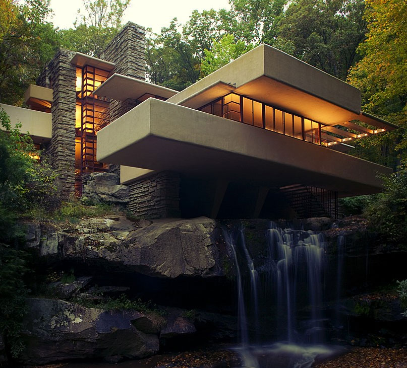Fallingwater By Frank Lloyd Wright 015 Ideasgn