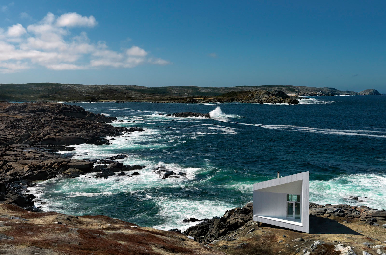 Fogo island squish studio by saunders architecture 001 for Dream home source canada