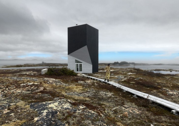 Fogo Island Studios / Saunders Architecture