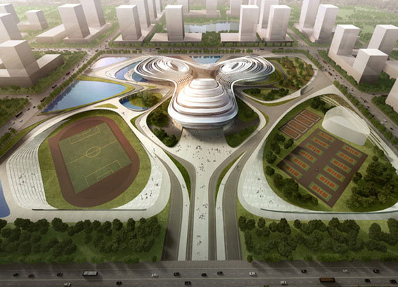 Jingzhou-Sports-Center-China-by-Duo-Decode-Urbanism-Office-002