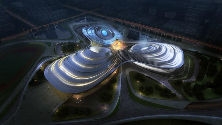 Jingzhou Sports Center / Duo