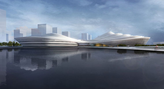 Jingzhou-Sports-Center-China-by-Duo