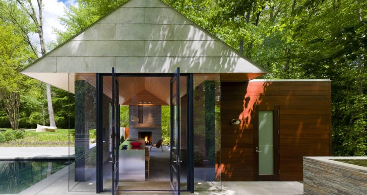 Nevis Pool and Garden Pavilion / Robert M. Gurney