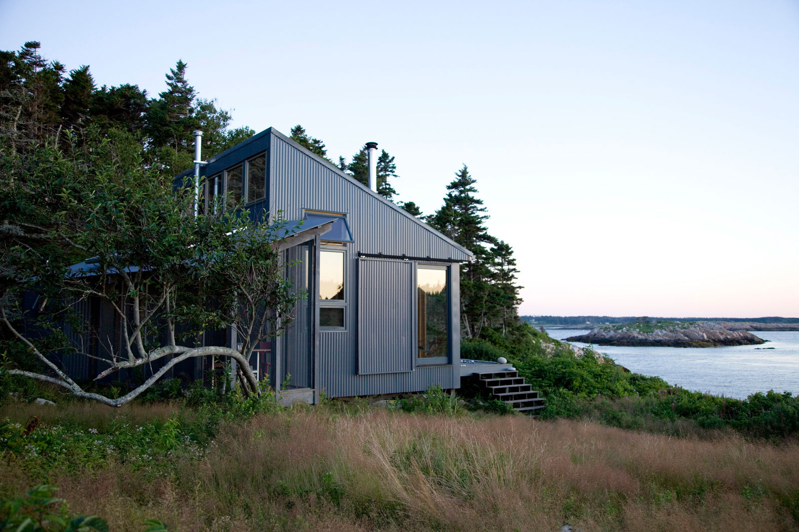 Porter cottage ragged island by alex scott porter design for Tiny home architects