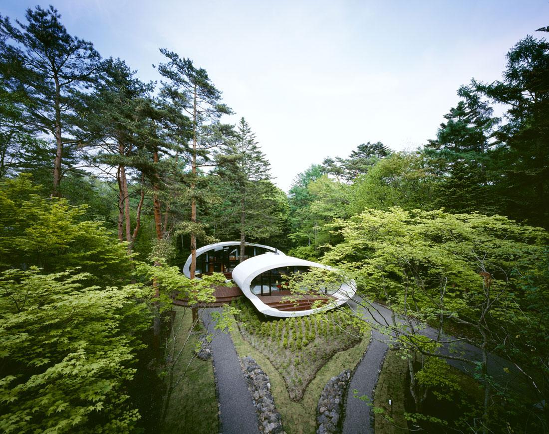 Shell House Karuizawa Artechnic Architects Ideasgn