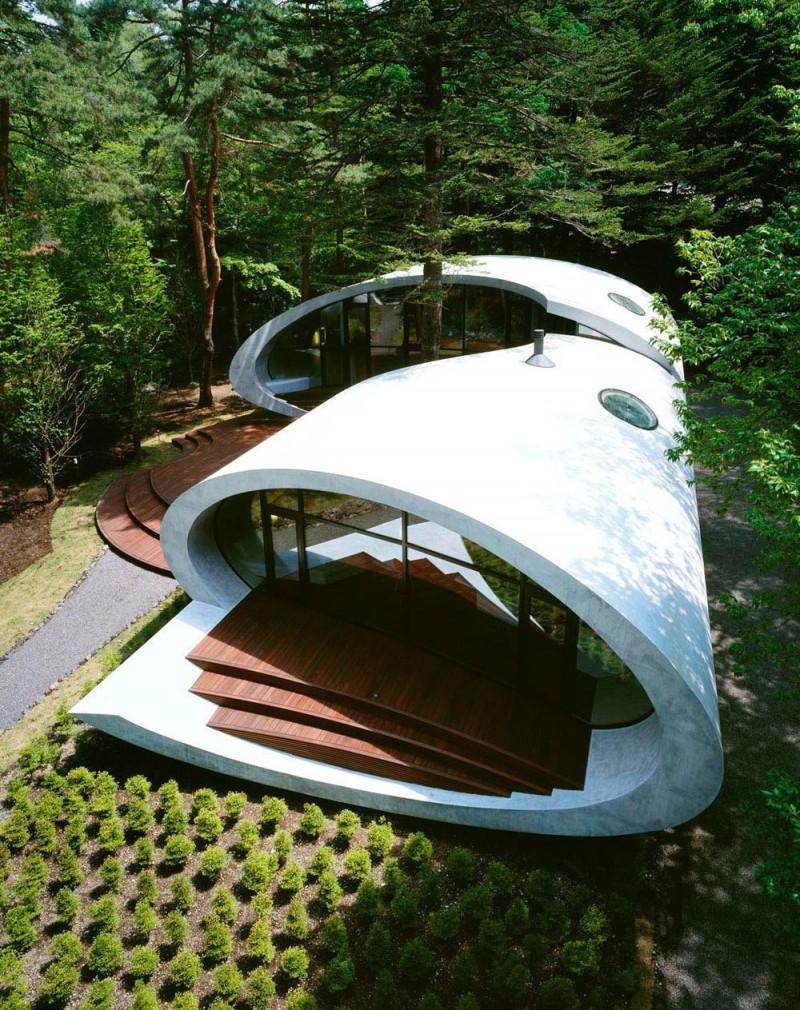[Image: Shell-House-Karuizawa-Japan-by-Artechnic...ts-017.jpg]