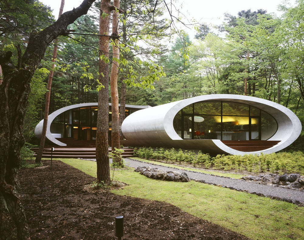 Shell House Karuizawa Japan by Artechnic Architects 028