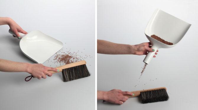 Sweeper and dustpan by Jan Kochański 006