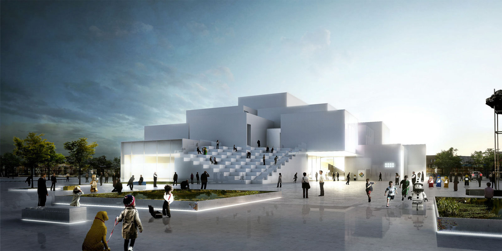 The lego house big ideasgn for Big bjarke ingels group