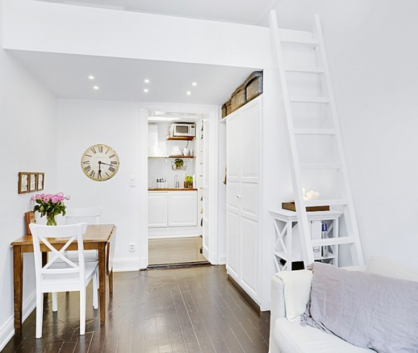 17m 178 Small Apartmant In Stockholm Ideasgn